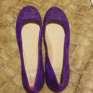 Purple vince camuto flats